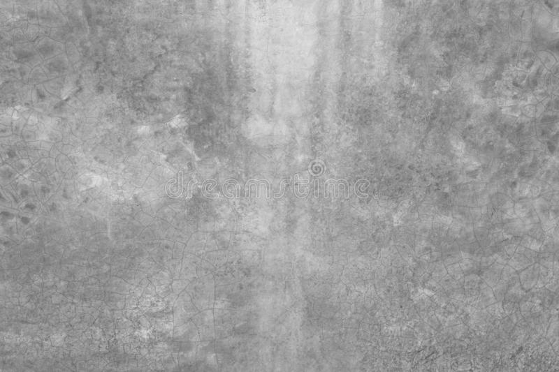 Old and cracked grungy texture, grey concrete or cement wall with vintage style pattern for background and design art work royalty free stock photo