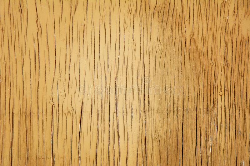 Old cracked wood texture. Different fractures of surface. Vertical lines and scuffs. Background for text or design.  stock photo