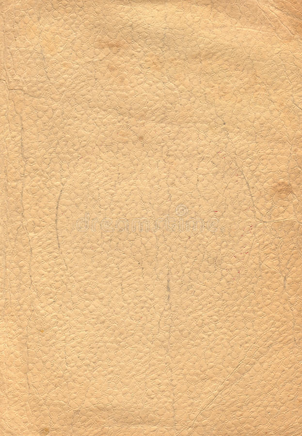 Old Crackled Parchment Paper stock photo