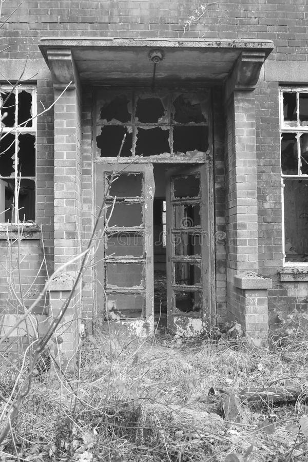 Download Old, Creepy, Abandoned Building Doorway. Stock Photo - Image: 67345440