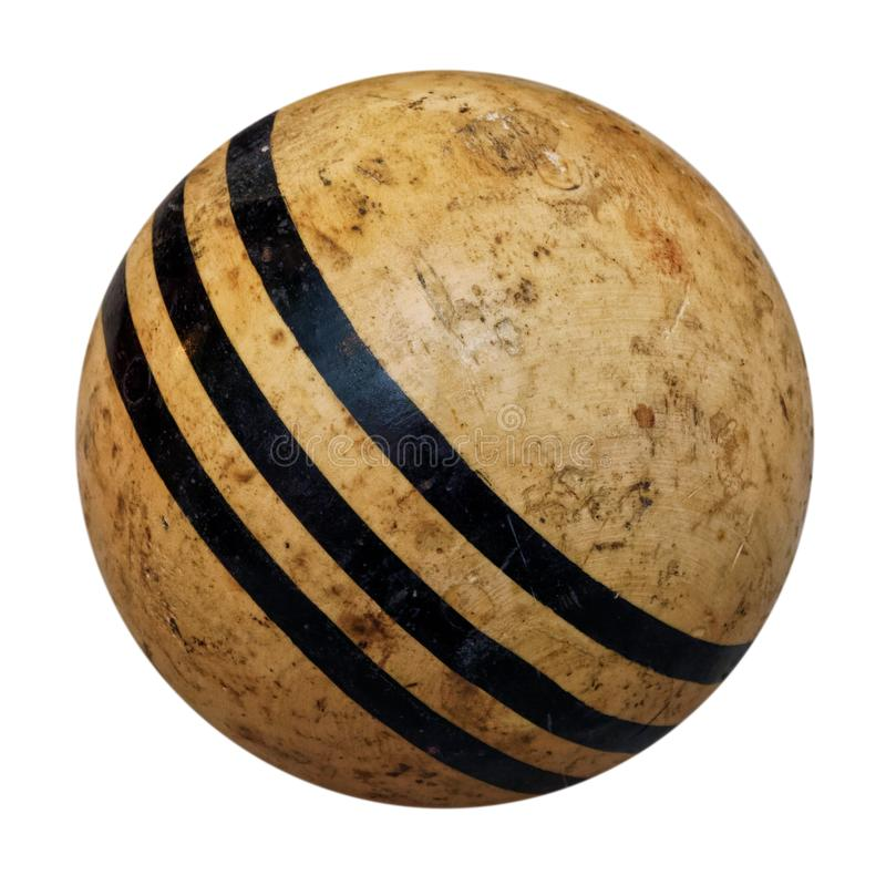 Free Old Croquet Ball Royalty Free Stock Image - 159909306