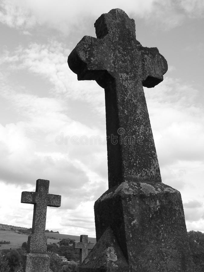 Old cross stock photos