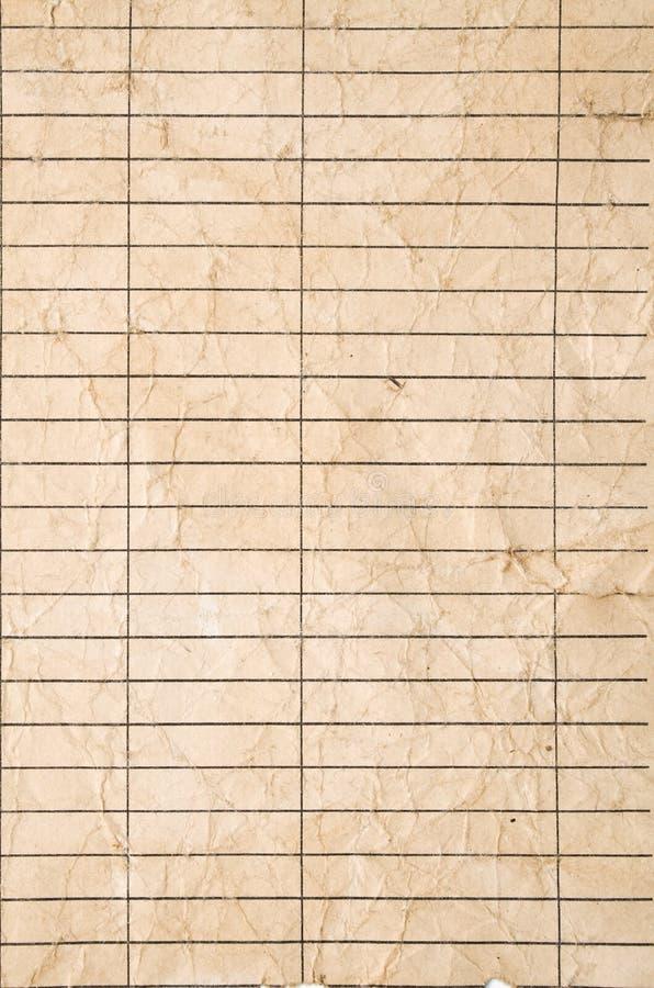 Download Old crushed brown paper stock illustration. Image of beige - 13109466