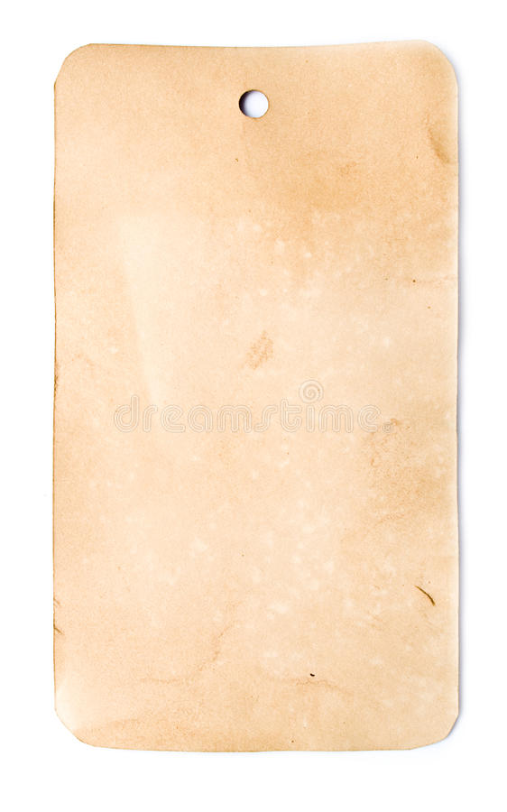 Old crushed brown paper