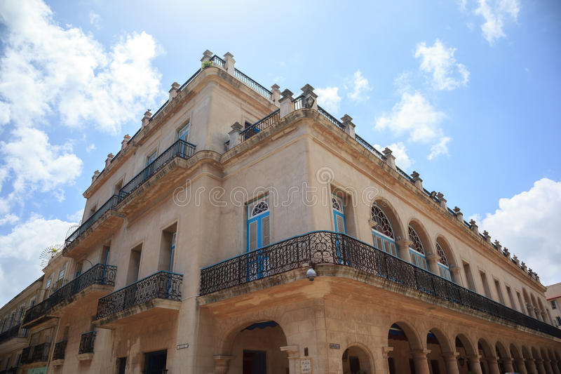 Old cuban building royalty free stock images