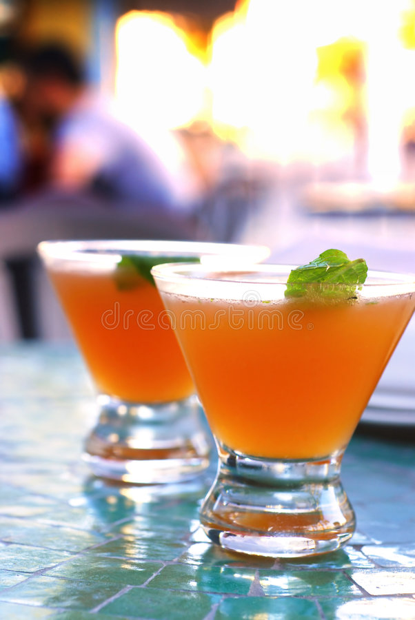Old Cuban Cocktail stock photography
