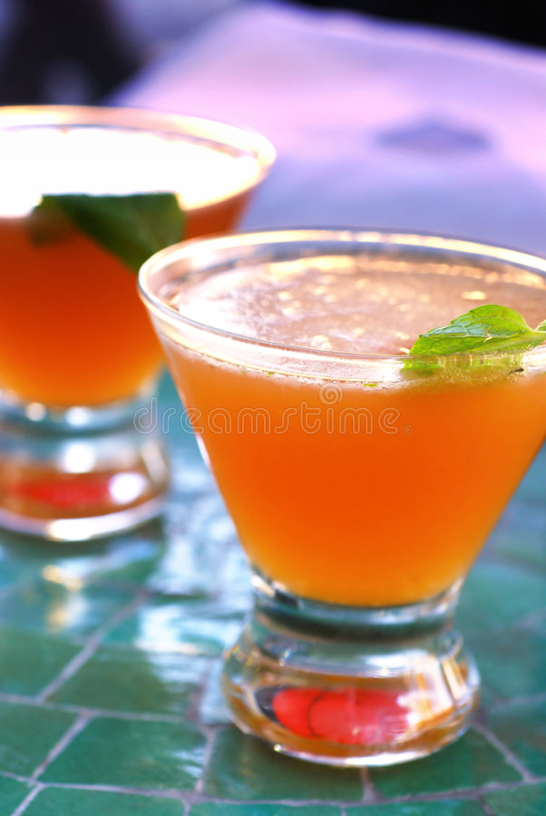 Old Cuban Cocktail royalty free stock image