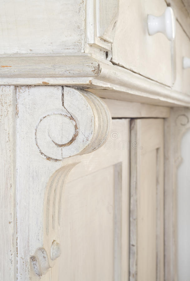 Download An old cupboard, close up stock illustration. Image of storage - 25762310