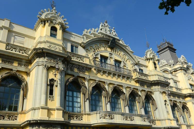 Old Customs House, Port de Barcelona, Spain royalty free stock photography