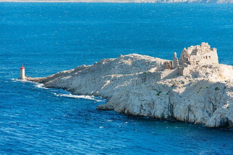 Old Dalmatian fortress stock photo