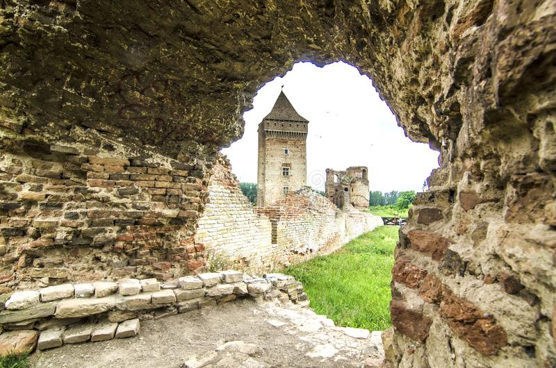 Old rustic castle stock images