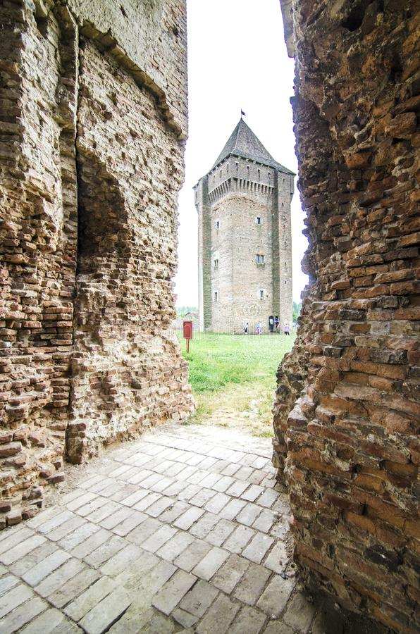 Old rustic castle stock photography