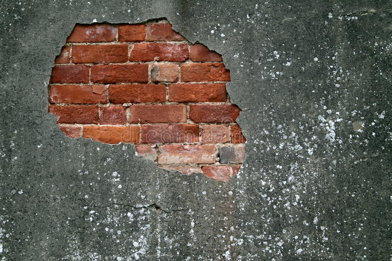Download Old damaged wall stock image. Image of urban, concrete - 20256973