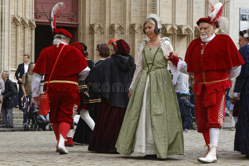 Old dancers royalty free stock image