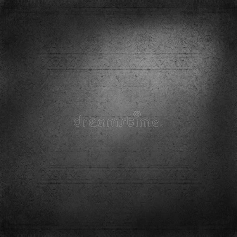 Old dark grey background texture royalty free illustration
