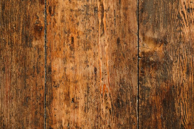 Download Old Dark Wood Panel Background Stock Image