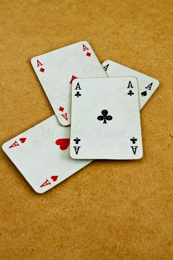 Free Old Deck Of Cards Stock Photography - 21163882