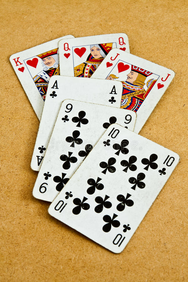 Free Old Deck Of Cards Royalty Free Stock Photography - 21163957