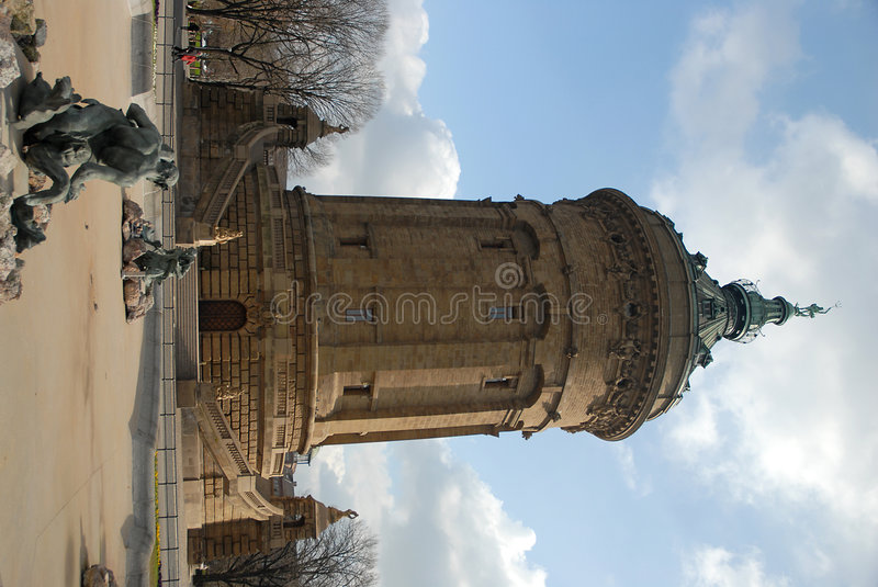 Free Old, Decorative City Water Tower Royalty Free Stock Photos - 2116398