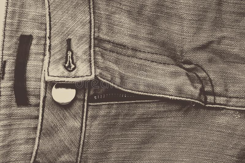 Old Denim Classic Design,Black Jean royalty free stock image