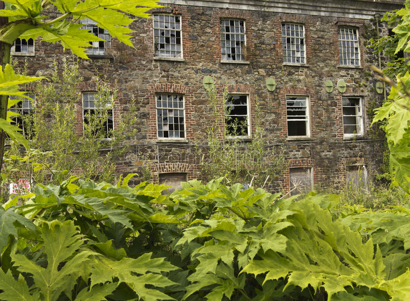The Old Derelict Building Stock Photography