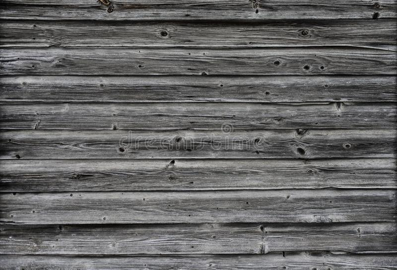 Old dervyannaya wall of weathered boards royalty free stock photography