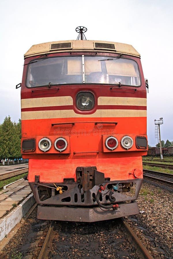 Free Old Diesel Locomotive Royalty Free Stock Image - 15650136