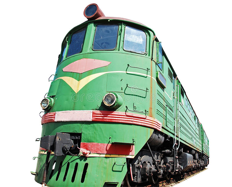 Download Old diesel locomotive stock photo. Image of carriage - 18171006