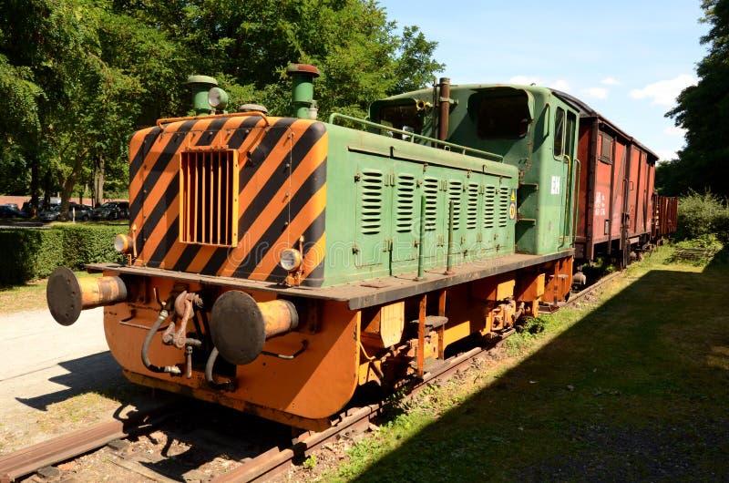 Download Old Diesel Locomotive Royalty Free Stock Images - Image: 28221739