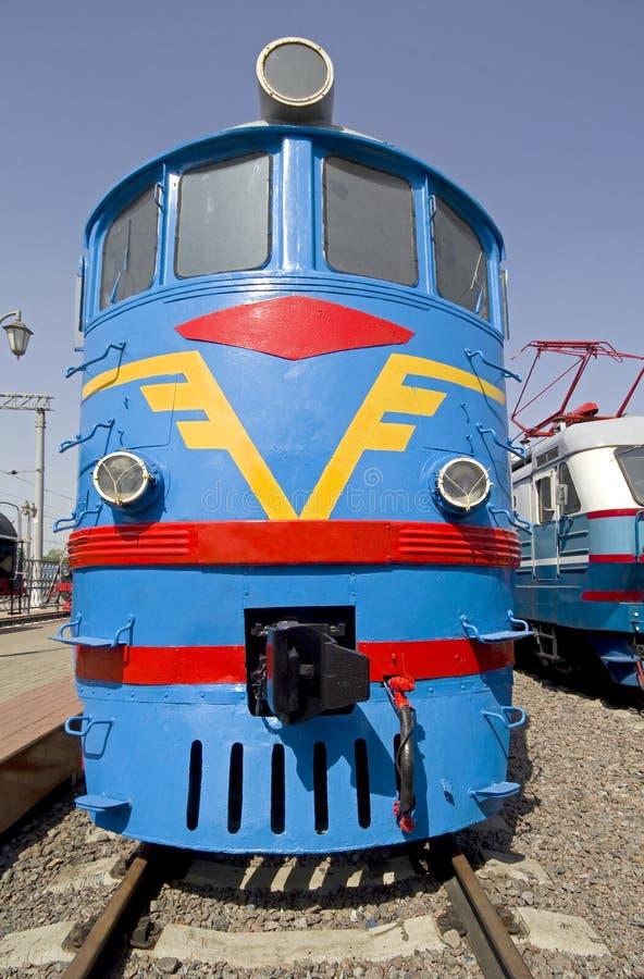 Free Old Diesel Locomotive 3 Stock Image - 15498341