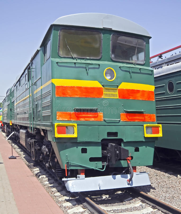 Download Old diesel locomotive 5 stock photo. Image of train, transport - 22008740
