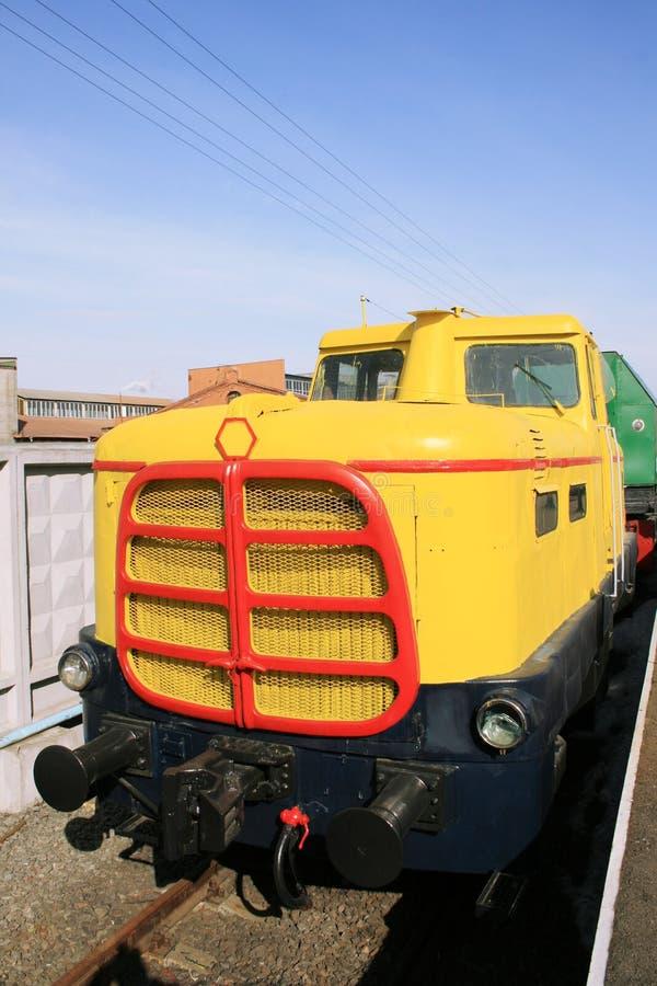 Free Old Diesel Locomotive Stock Photos - 9087803