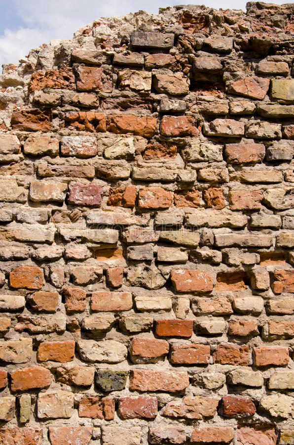 Download Old Dilapidated Brick Wall Backdrop Stock Image - Image: 22791923
