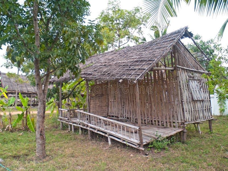 Old dilapidated hut
