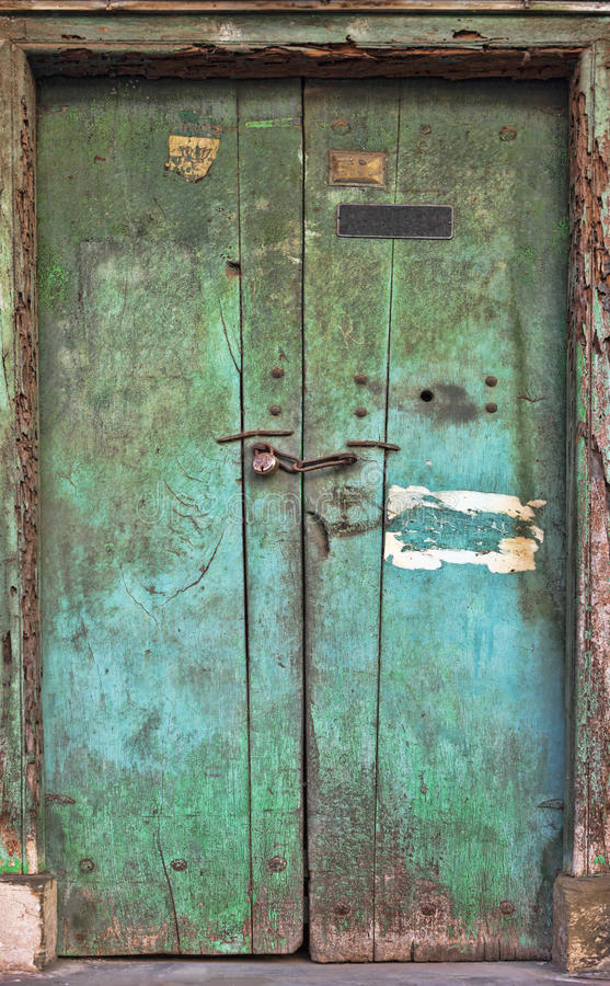Download Old Dilapidated Wooden Door. Stock Image - Image of house, color: 28646857