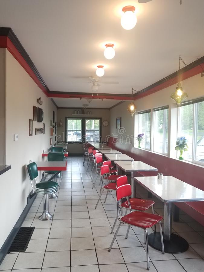 Old Diner stock images