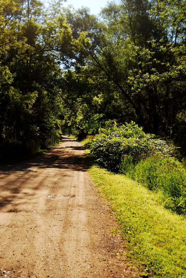 Free Old Dirt Road Royalty Free Stock Image - 5985426