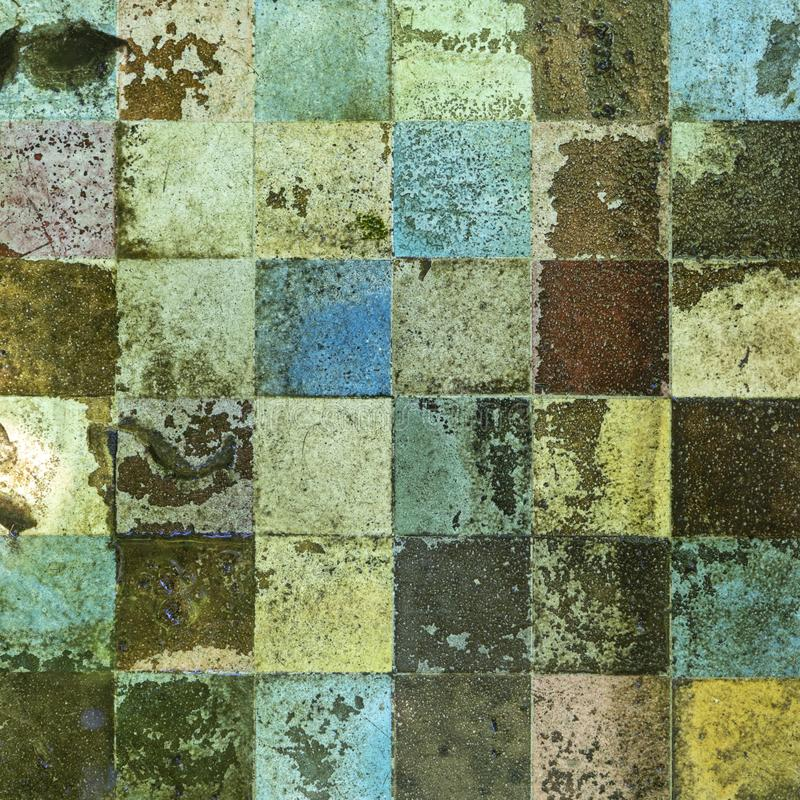 Free Old Dirty Enamel Mosaic I Royalty Free Stock Image - 119807906