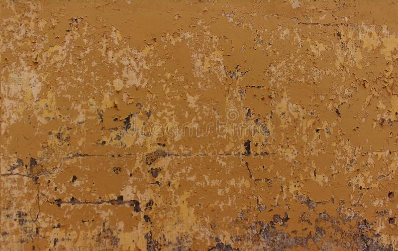 Old dirty nasty plaster on the wall surface stock photography