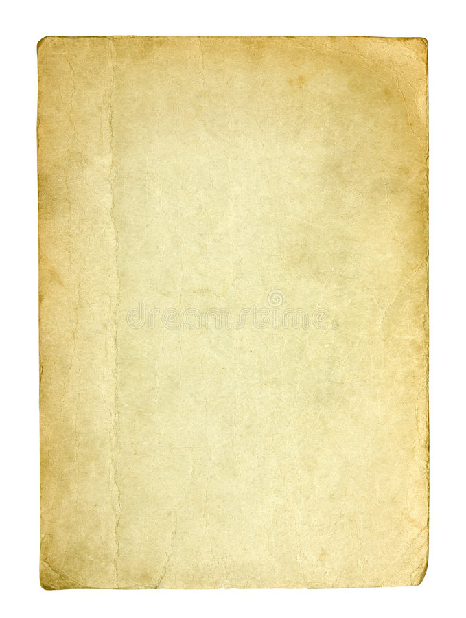 Download Old And Dirty Sheet Of Paper Stock Image - Image of isolated, message: 8627973