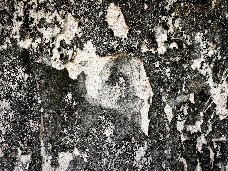 Old dirty wall with wear out paint for texture royalty free stock images