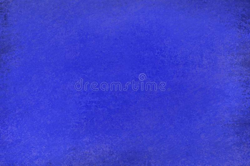Old distressed dark sapphire blue background design with faded grunge texture. In an elegant illustration stock illustration