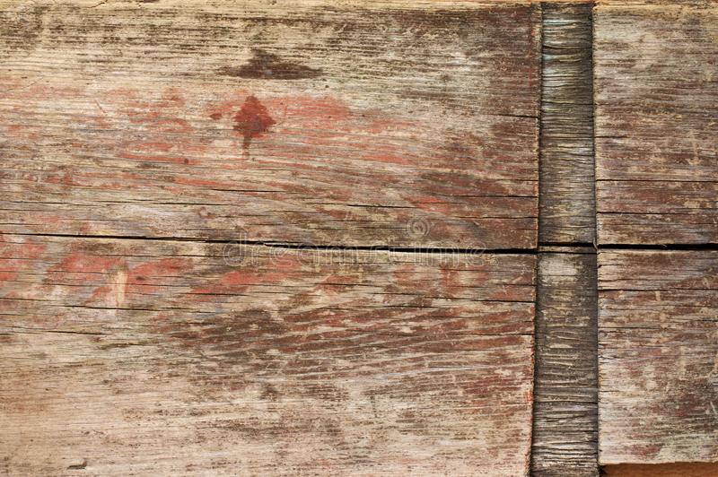 Weathered wood texture royalty free stock photos