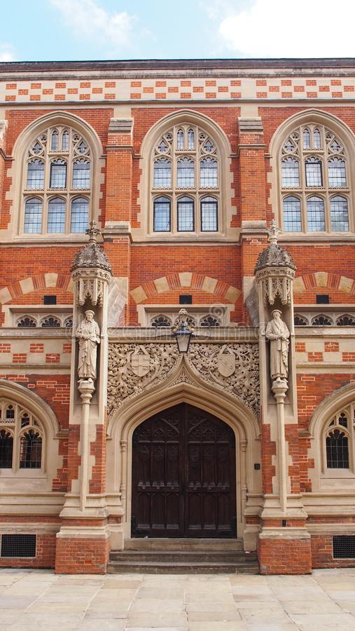 Old Divinity School in Cambridge, England stock image