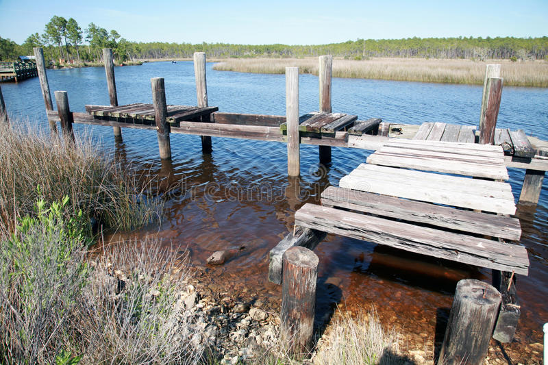 Download Old Dock stock image. Image of marsh, ripples, outdoor - 14130013