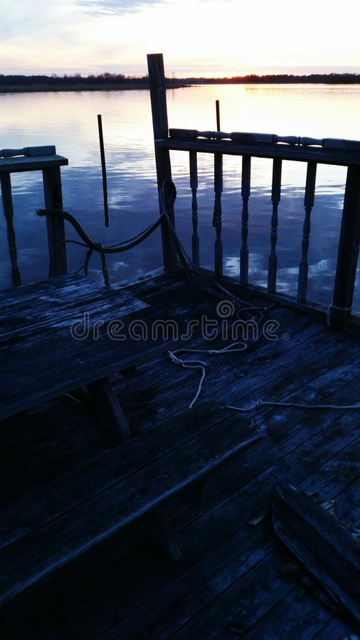 Old Dock royalty free stock image