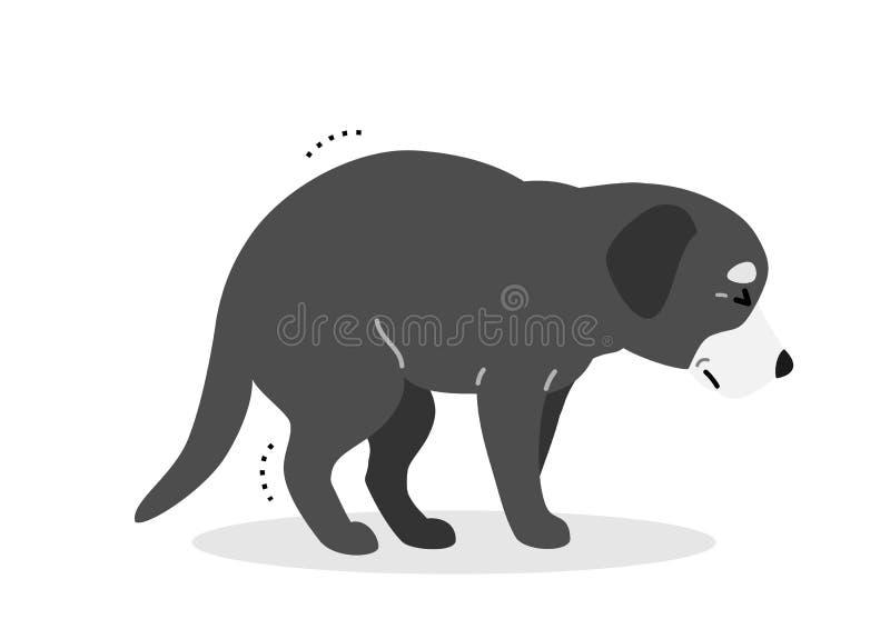 Shivering Dog Stock Illustrations – 13 Shivering Dog Stock