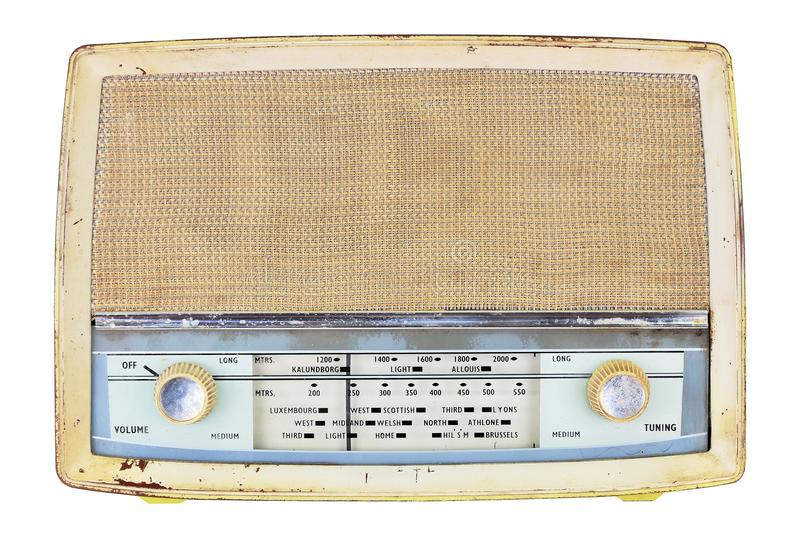 Download Old Domestic Wireless Radio Receiver Set Stock Image - Image: 32026227