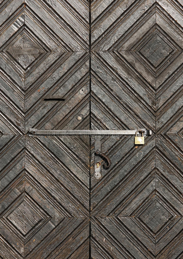 Download Old door stock photo. Image of enter, hall, pattern, interior - 21552106