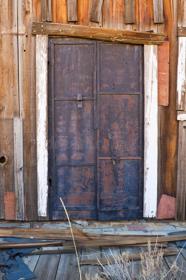 Download Old Door stock image. Image of iron, entry, heavy, building - 23696543